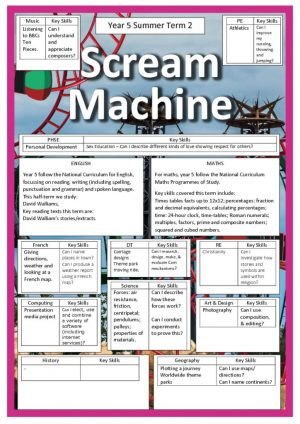 thumbnail of SCREAM MACHINE summer 2
