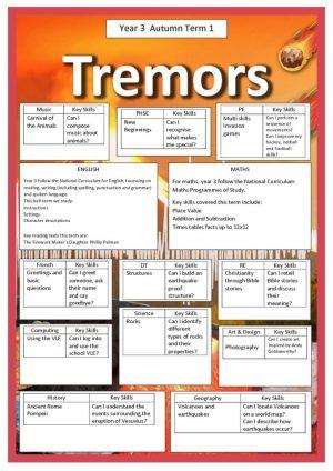 thumbnail of Y3 AUTUMN 1 TREMORS
